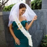 Bride To Be Sash & Veil Set