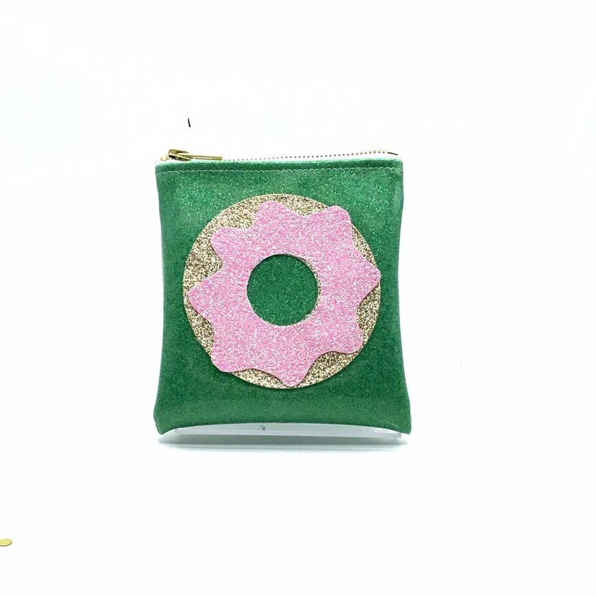 Frosted Donut Mini Clutch