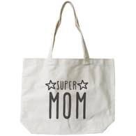 Super Mom Canvas Tote Bag