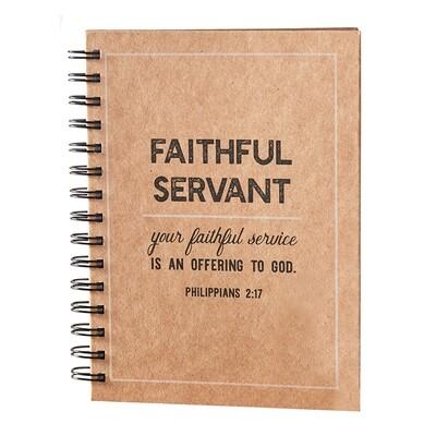 Faithful Servant Notebook