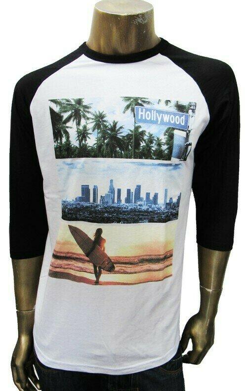 Baseball Tee - Palm City Surf
