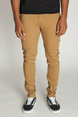 BASIC TWILL SKINNY PANTS