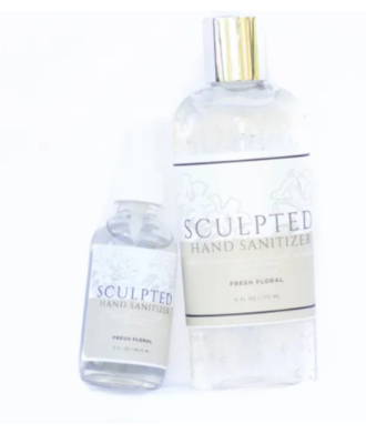 Sculpted Hand Sanitizer
