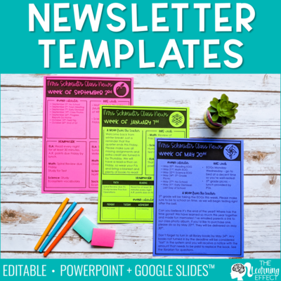 Newsletter Templates [Editable]
