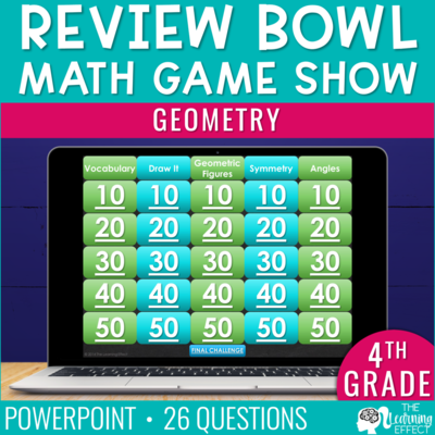 Geometry Game Show | 4th Grade Math