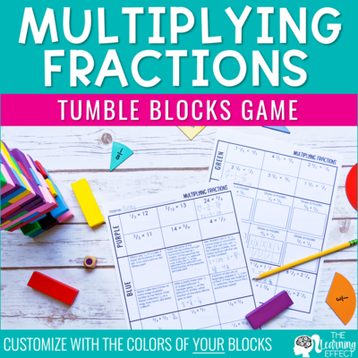 Multiplying Fractions Game | Tumble Blocks Game