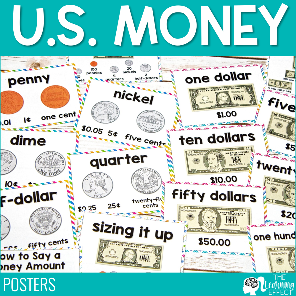 Money Posters   U.S. Currency