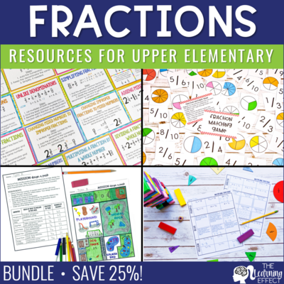 Fraction Resources BUNDLE