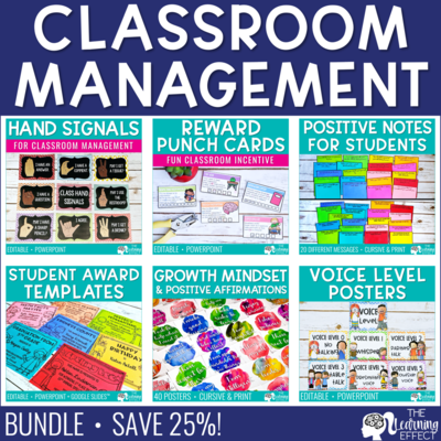 Classroom Management BUNDLE