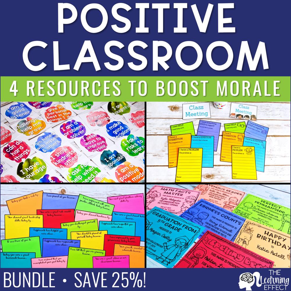 Positive Classroom Resources BUNDLE