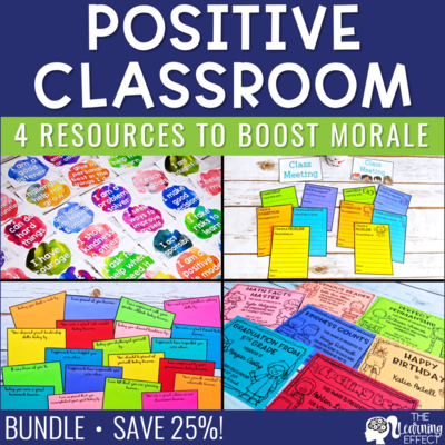 Positive Classroom Resources BUNDLE