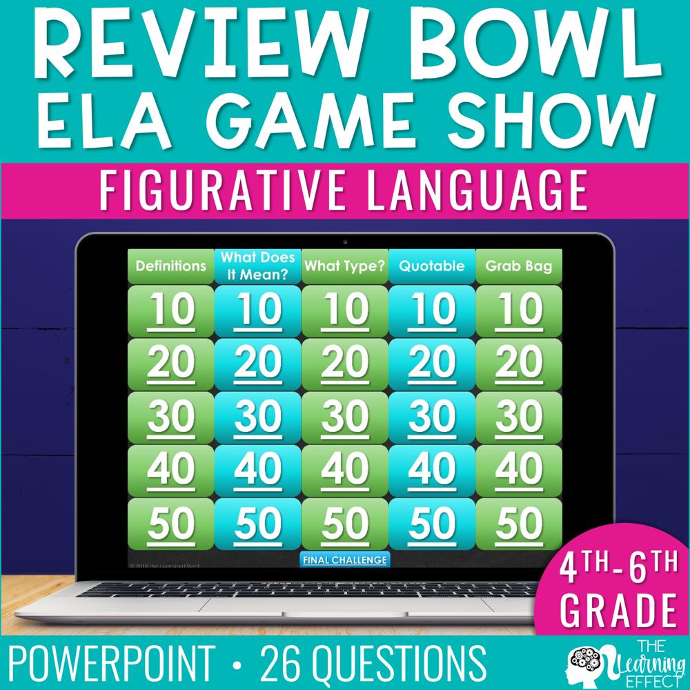 Figurative Language Game Show