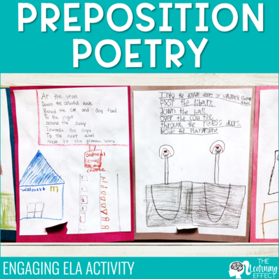Preposition Poetry Activity