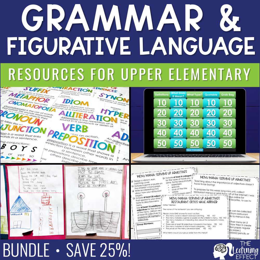 Grammar and Figurative Language Resources BUNDLE