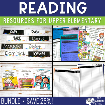 Reading Resources BUNDLE