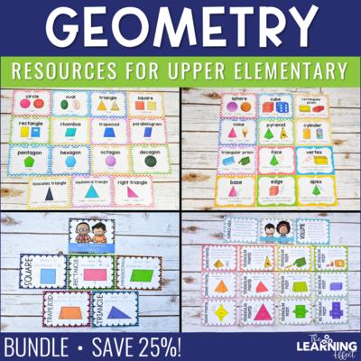 Geometry Resources BUNDLE