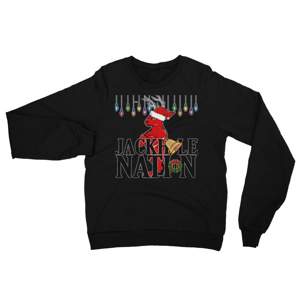 Jackhole Nation Christmas Sweatshirt