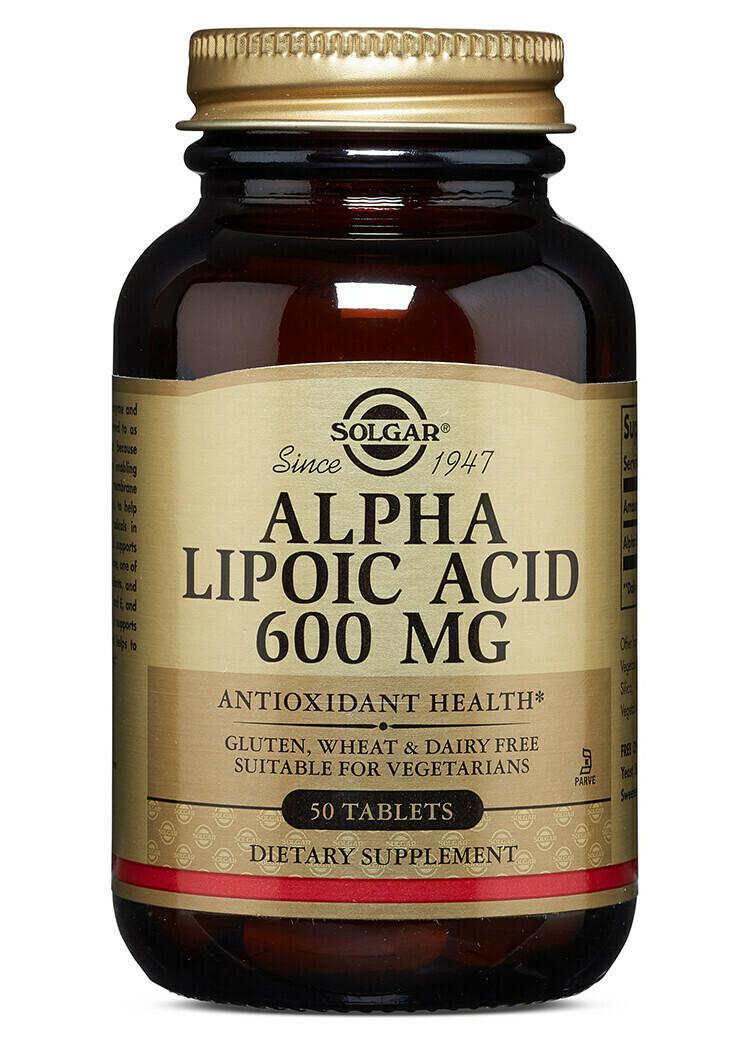 Alpha Lipoic Acid 600 mg