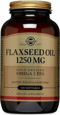 Flaxseed Oil 1250mg