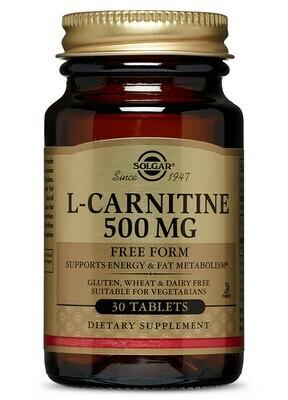 L-Carnitine - 500mg - 30