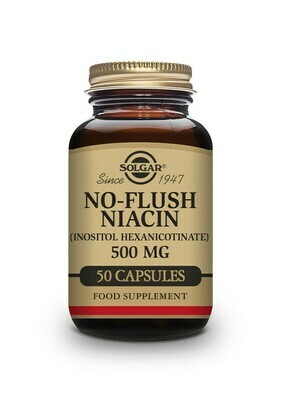 No-Flush Niacin - 500mg