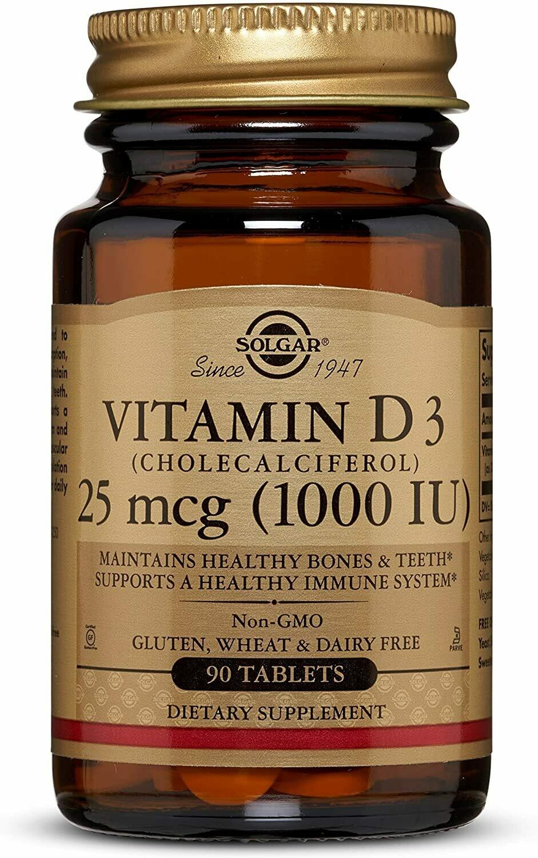 Vitamin D3 - 25mcg