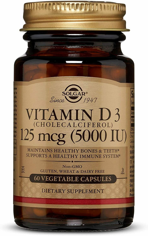 Vitamin D3 - 125mcg