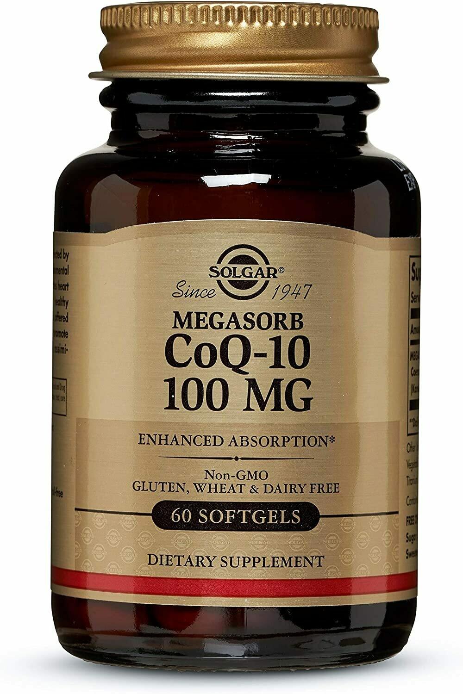 Megasorb CoQ-10 100mg Softgels