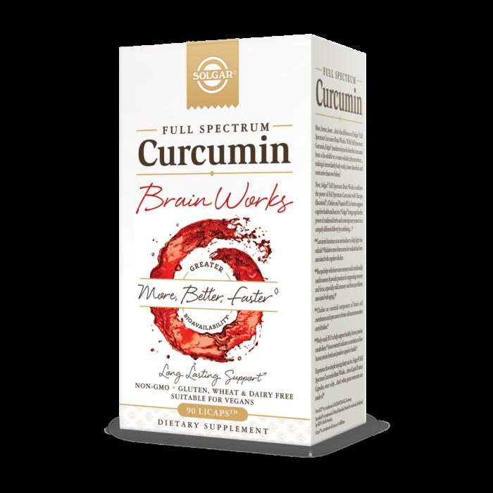 Full Spectrum Curcumin - Brain Works