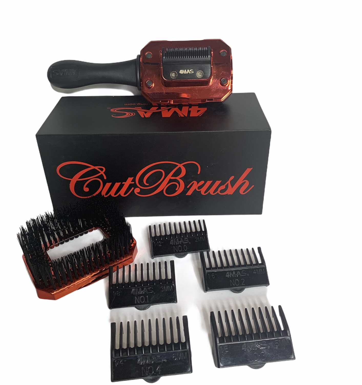 4MAS CutBrush (Black and Red) Model 2