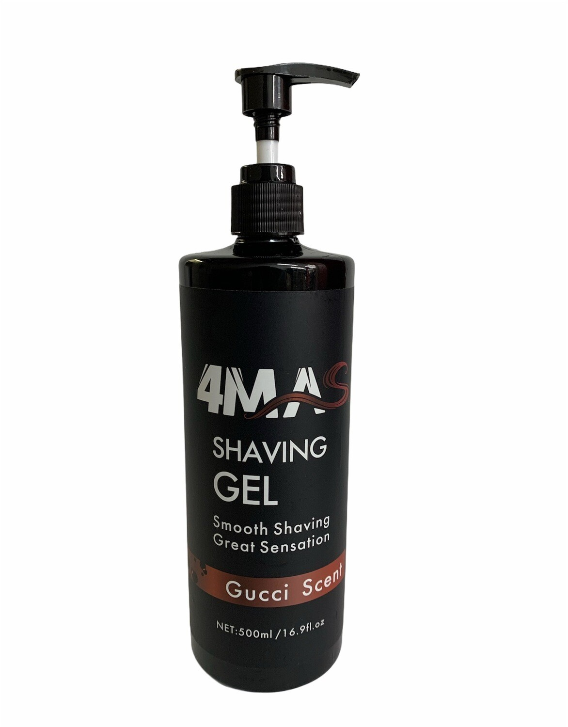 4MAS Shaving Gel (Gucci Scent)