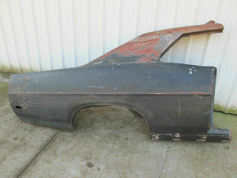 1968 1969 Torino Fairlane - full rear quarter panel right passenger side