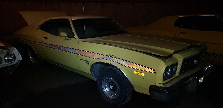 1973 Gran Torino Sport - Yellow Cobra Jet