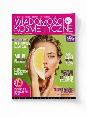 Wiadomości Kosmetyczne Sierpień 2019