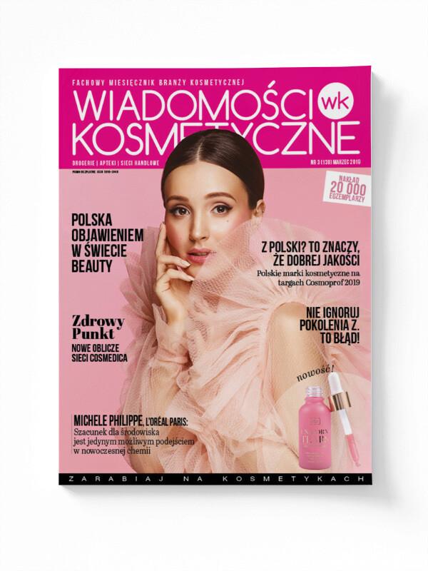 Wiadomości Kosmetyczne Marzec 2019