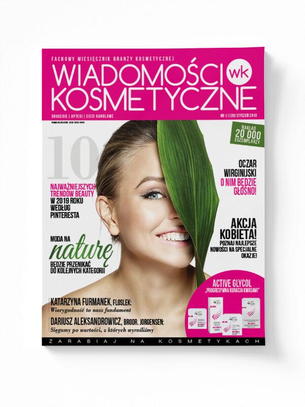 Wiadomości Kosmetyczne Styczeń 2019