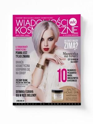 Wiadomości Kosmetyczne Listopad - Grudzień 2020