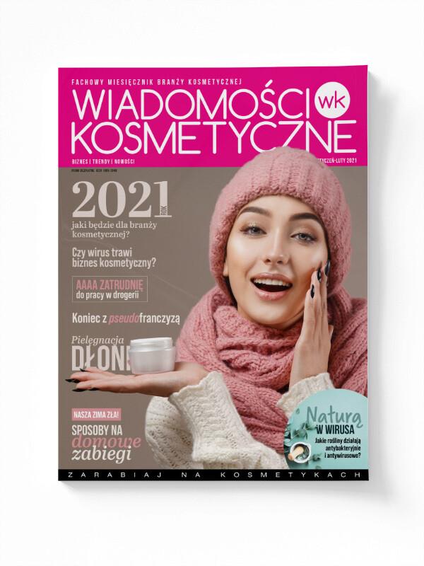 Wiadomości Kosmetyczne Styczeń - Luty 2021