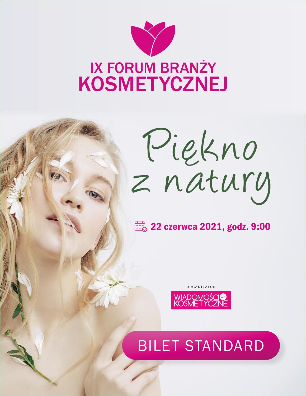 Forum Branży Kosmetycznej 2021 – Bilet Standard