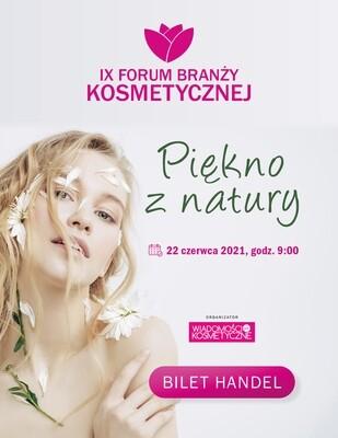 Forum Branży Kosmetycznej 2021 -  Bilet dla przedstawicieli handlu