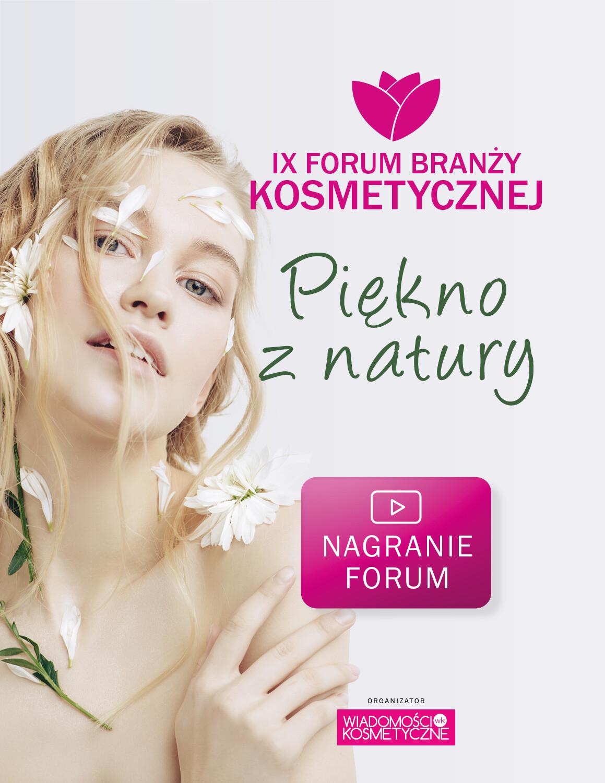 Forum Branży Kosmetycznej 2021 Piękno z Natury – nagranie z konferencji