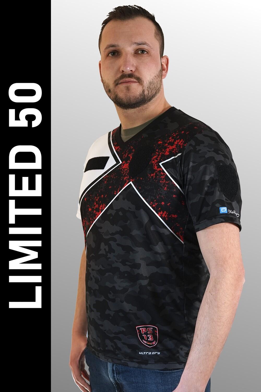 E Sport Shirt Weiss Grösse M
