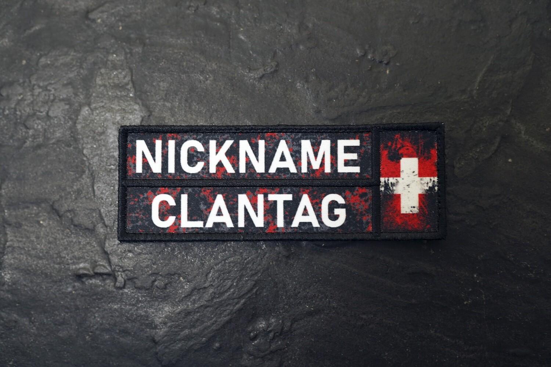 Nickname Camo Rot CH