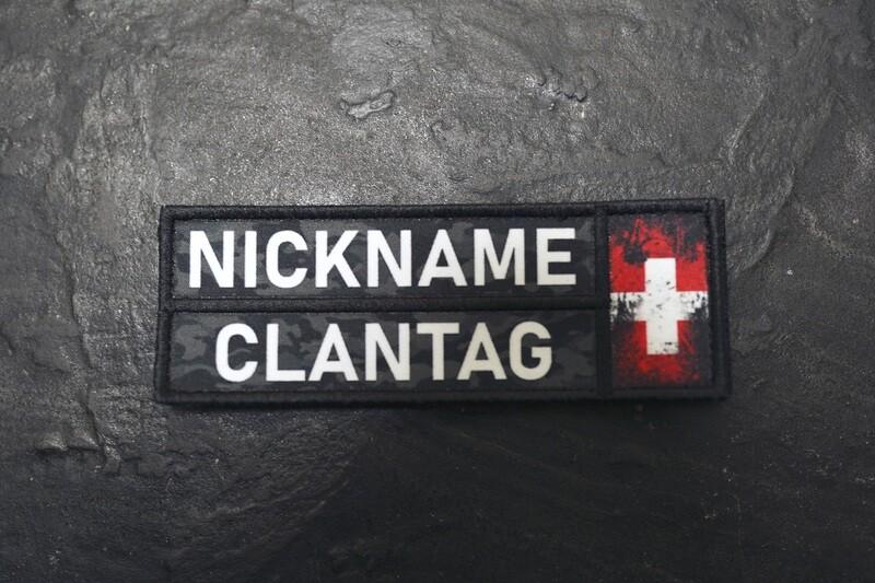 Nickname Camo Schwarz CH