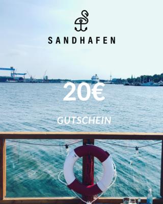 SANDHAFEN 20€-Gutschein