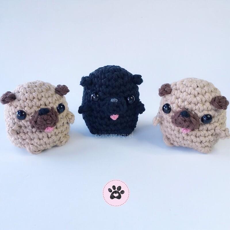 Mini Pug Amigurumi