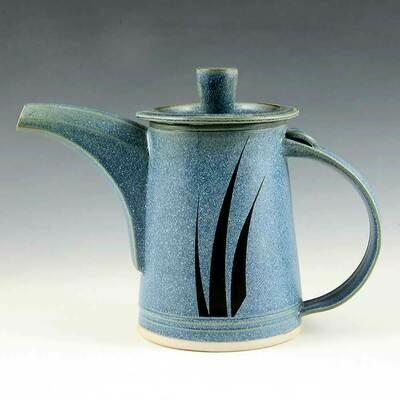 Miners Tea Pot - 2 Cups – Three Grass Motif