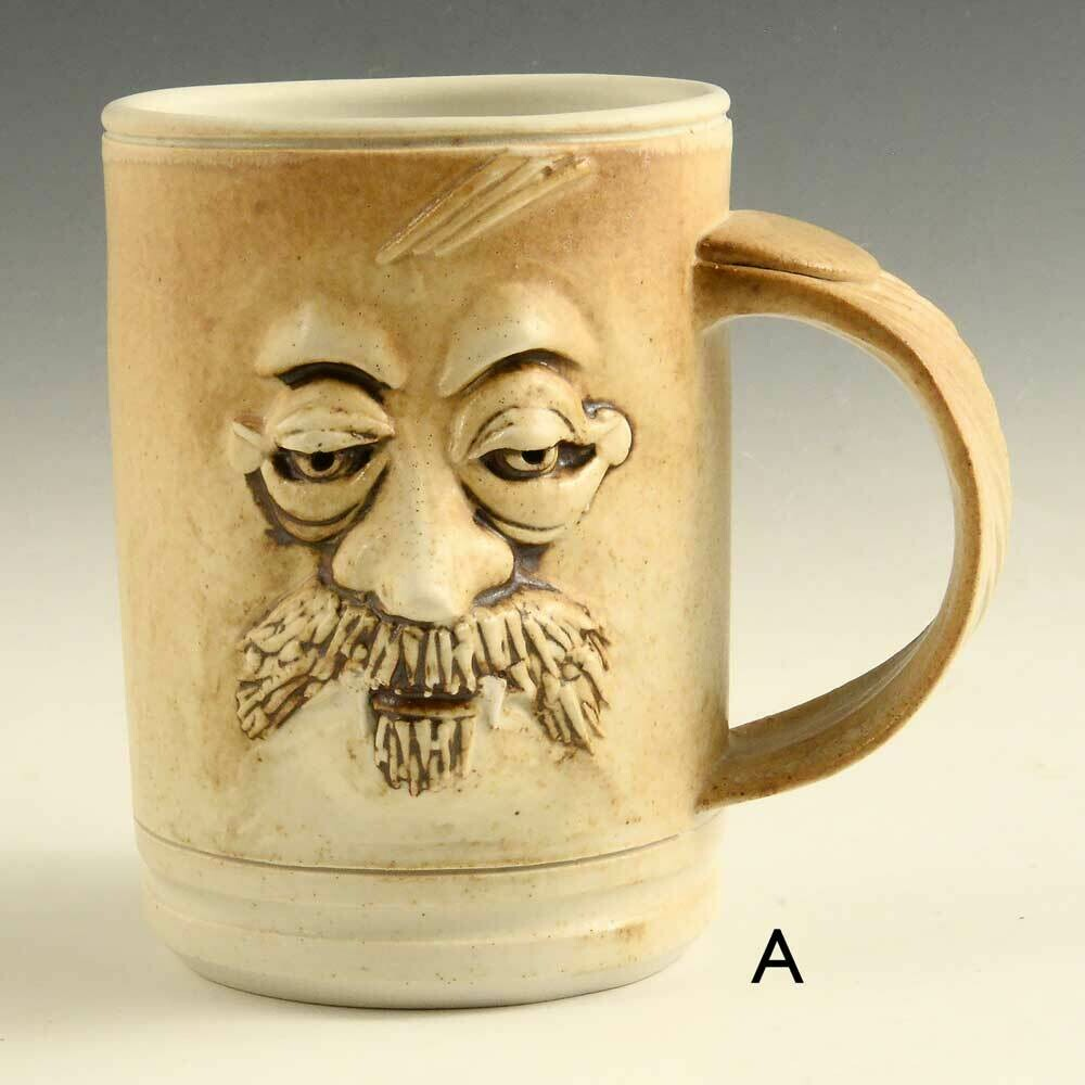 Mug - Vampire Mugs Unique sculptured faces limited edition
