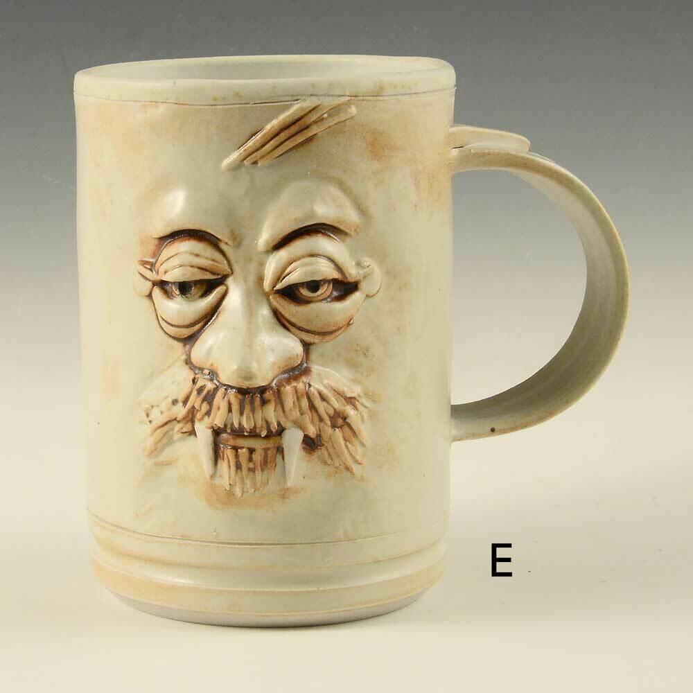 Mug - Vampire Mugs Unique sculptured faces limited edition