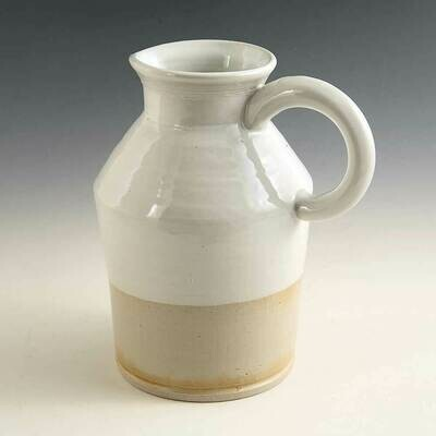 Milk Pitcher - Functional, tough and rugged. Stoneware from the potters wheel.